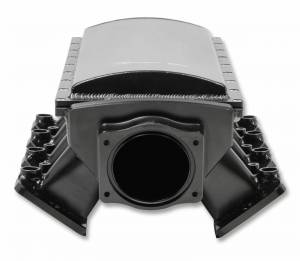 Holley Sniper EFI - Sniper EFI Fabricated Race Series Intake Manifold - GM LS3/L92 - 90mm - Black - Image 9