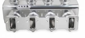 Holley Sniper EFI - Sniper EFI Fabricated Race Series Intake Manifold - GM LS3/L92 - 90mm - Silver - Image 10