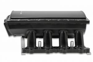 Holley Sniper EFI - Sniper EFI Fabricated Race Series Intake Manifold - 2011-14 Ford 5.0L Coyote - Black - Image 8