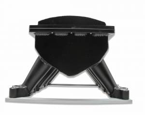 Holley Sniper EFI - Sniper EFI Fabricated Race Series Intake Manifold - 2011-14 Ford 5.0L Coyote - Black - Image 9