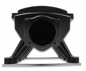 Holley Sniper EFI - Sniper EFI Fabricated Race Series Intake Manifold - 2011-14 Ford 5.0L Coyote - Black - Image 10