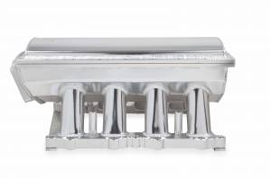 Holley Sniper EFI - Sniper EFI Fabricated Race Series Intake Manifold - 2011-14 Ford 5.0L Coyote - Silver - Image 10