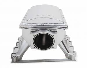 Holley Sniper EFI - Sniper EFI Fabricated Race Series Intake Manifold - 2011-14 Ford 5.0L Coyote - Silver - Image 12