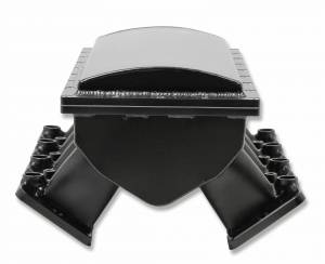 Holley Sniper EFI - Sniper EFI Fabricated Race Series Intake Manifold - GM LS1/LS2/LS6 - Black - Image 9