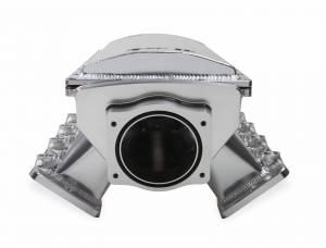 Holley Sniper EFI - Sniper EFI Fabricated Race Series Intake Manifold - GM LS1/LS2/LS6 - Silver - Image 4