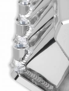 Holley Sniper EFI - Sniper EFI Low-Profile Sheet Metal Fabricated Intake Manifold - Image 5