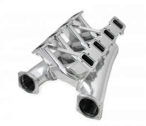 Holley Sniper EFI - Sniper EFI Fabricated Intake Manifold Dual Plenum 102mm GM LS3/L92, TB spacers, and Fuel Rail Kit - Silver - Image 8