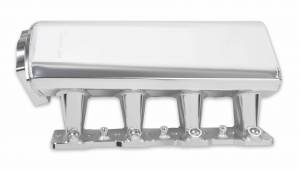 Holley Sniper EFI - Sniper EFI Low-Profile Sheet Metal Fabricated Intake Manifold - Image 4