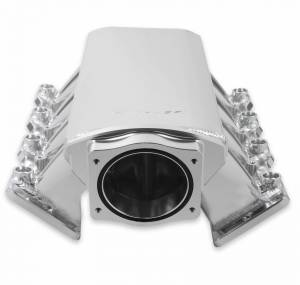 Holley Sniper EFI - Sniper EFI Low-Profile Sheet Metal Fabricated Intake Manifold - Image 6