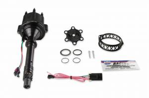 Holley Sniper EFI - 565-317BK HyperSpark Distributor - GM V6 - Black Billet Housing - Image 2