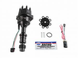 Holley Sniper EFI - 565-310BK HyperSpark Distributor - Oldsmobile - Black Billet Housing - Image 2