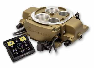 Holley Sniper EFI - Holley Sniper EFI Quadrajet Master Kit - Classic Gold Finish - Image 2