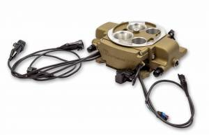 Holley Sniper EFI - Holley Sniper EFI Quadrajet Master Kit - Classic Gold Finish - Image 3