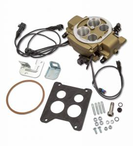 Holley Sniper EFI - Holley Sniper EFI Quadrajet Master Kit - Classic Gold Finish - Image 7