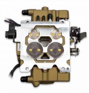 Holley Sniper EFI - Holley Sniper EFI Quadrajet - Classic Gold Finish - Image 7