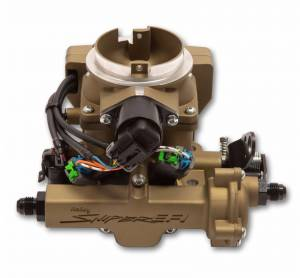 Holley Sniper EFI - 550-866 Holley Sniper EFI 2GC Small Bore - Classic Gold Finish - Image 6