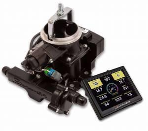Holley Sniper EFI - Holley Sniper EFI BBD Master Kit for Jeep CJ - Black - Image 2