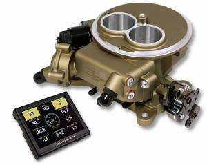 Sniper EFI Self-Tuning Kits - Sniper EFI 2300 2BBL - Supports up to 350 HP - Holley Sniper EFI - Holley Super Sniper EFI 2300 Self-Tuning Kit - Classic Gold Finish