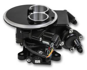 Holley Sniper EFI - 550-850 Holley Sniper EFI 2300 Self-Tuning Kit - Black Ceramic Finish - Image 2