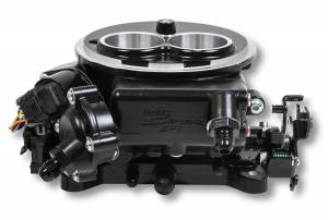 Holley Sniper EFI - 550-850 Holley Sniper EFI 2300 Self-Tuning Kit - Black Ceramic Finish - Image 4