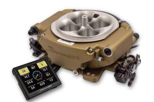 Holley Sniper EFI - Holley Sniper EFI XFlow - Classic Gold - Image 1