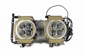 Holley Sniper EFI - Holley Sniper EFI 4150 2x4  Gold - Image 2