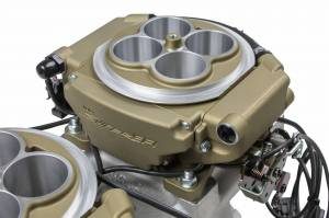 Holley Sniper EFI - Holley Sniper EFI 4150 2x4  Gold - Image 4