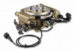 Holley Sniper EFI - 550-516K Holley Sniper EFI Self-Tuning Master Kit - Classic Gold Finish - Image 4