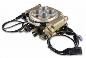 Holley Sniper EFI - 550-516K Holley Sniper EFI Self-Tuning Master Kit - Classic Gold Finish - Image 5