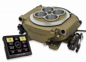 Holley Sniper EFI - 550-516 Holley Sniper EFI Self-Tuning Kit,  - Classic Gold Finish - Image 1