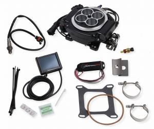 Holley Sniper EFI - 550-511D Holley Sniper EFI Returnless Master Kit - Black Ceramic - Image 4