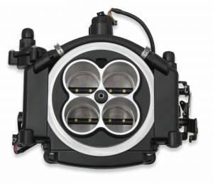 Holley Sniper EFI - 550-511 Holley Sniper EFI Self-Tuning Kit - Black Ceramic Finish - Image 8