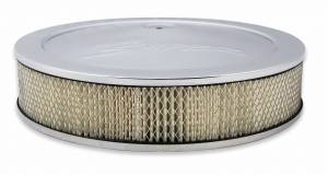 "Holley Sniper EFI - Sniper Air Cleaner Assembly, 14"" x 3"" - Chrome Finish - Image 2"