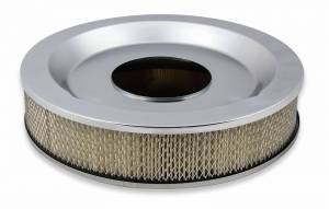 "Holley Sniper EFI - Sniper Air Cleaner Assembly, 14"" x 3"" - Chrome Finish - Image 3"