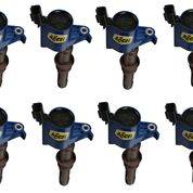Accel - 140033EB-8 Accel COIL 8PK,FORD LATE MOD ENG 3-VALVE, BLUE
