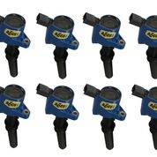 Ignition - Ignition Coils - Accel - 140032B-8 Accel COIL 8PK,FORD MOD ENG 2-VALVE, BLUE