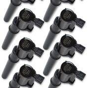 Ignition - Ignition Coils - Accel - 140034K-8 Accel COIL, FORD MOD ENG 4VALVE- BLACK -8 PACK