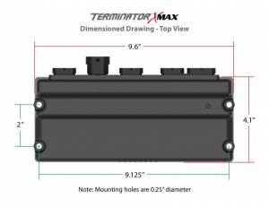 Holley EFI - 550-928 Terminator X MAX LS2/LS3/Late Truck 58X/4X LS MPFI Kit w/DBW Throttle Body and Transmission Control - Image 8