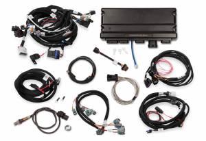 Holley EFI - 550-928 Terminator X MAX LS2/LS3/Late Truck 58X/4X LS MPFI Kit w/DBW Throttle Body and Transmission Control - Image 2