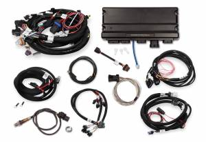 Holley EFI - 550-927 Terminator X MAX Early Truck 24X/1X LS MPFI Kit with DBW Throttle Body and Transmission Control - Image 2